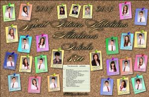 8.a osztály - tabló