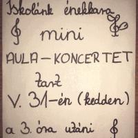 Hangverseny plakát